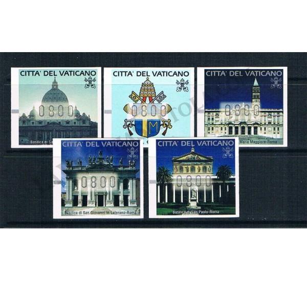 2000 - Basiliche e Stemmi di S.S. Giovanni Paolo II