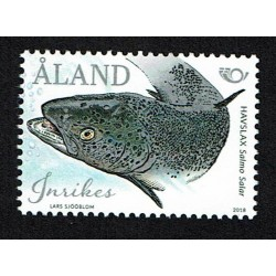 2018 Aland Nordic tematica pesci varnish