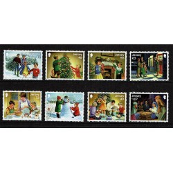 2017 Jersey Tematica Natale MNH/**