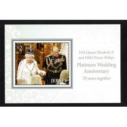 2017 Jersey nozze Platino regina Elisabetta e principe Filippo