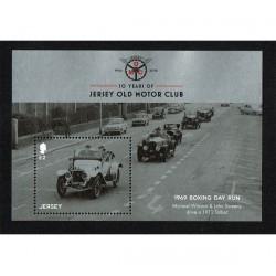2016 Jersey Automobili d'epoca foglietto MNH/**