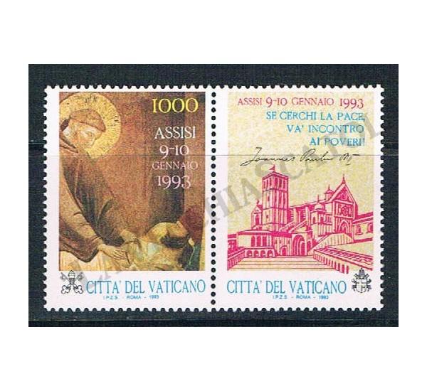 1992 - Assisi preghiera per la pace - MNH/**
