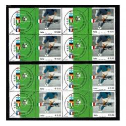 2002 Campioni del Mondo Calcio I e II tiratura Quartine