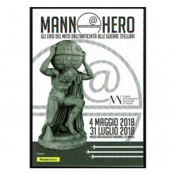 2018 Folder Mann@Hero Gli Eroi del Mito vs Star Wars