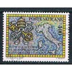 1985 - concordato con Stato Italiano - MNH/**