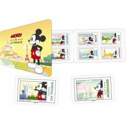 2018 Francia Topolino a Parigi Mickey Mouse Disney Libretto