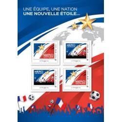 Francia Mondiali Russia Fifa 2018 - Merci les blues