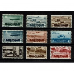 1934 Medaglie al valor militare Posta Aerea MNH/**