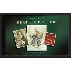 1993 Gran Bretagna libretto Beatrix Potter (Prestige Book)