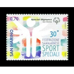 2014 San Marino federazione sport speciali MNH/**