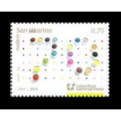 2014 San Marino colorificio sammarinese MNH/**