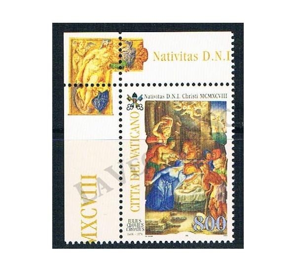 1998 - Natale MNH/**
