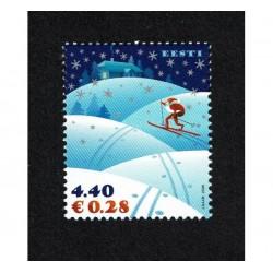 2006 Estonia tematica Natale MNH/**