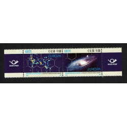 2009 Estonia emissione PostEurope - Astronomia MNH/**