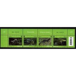 2010 Estonia WWF - Il Tritone Crestato MNH/**