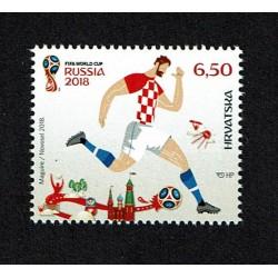 2018 Croazia Fifa 2018 mondiali di calcio MNH/**