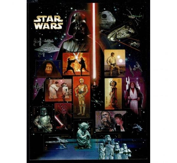 2007 USA Star Wars foglietto 30° anniversario