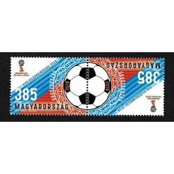 2018 Ungheria Fifa 2018 World Cup tête-bêche