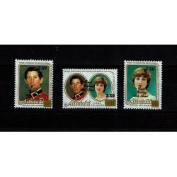 1987 Aitutaki 40° Royal Wedding Regina Elisabetta