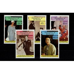 1987 Granadines of St. Vincent 40° Royal Wedding Regina Elisabetta