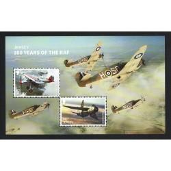 2018 Jersey RAF (Royal Air Force) foglietto MNH/**