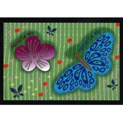 2016 Svizzera foglietto Farfalle unusual MNH/**