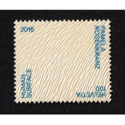 2015 Svizzera Human Surface francobollo in pelle