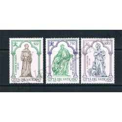 1995 - S.Antonio di Padova, S.Giovanni di Dio e S.Filippo Neri - MNH/**