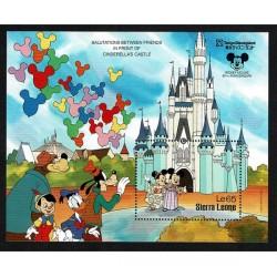 1987 Sierra Leone Disney - Tokyo Disneyland Cenerentola