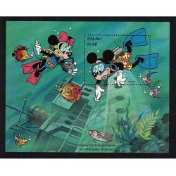 1994 Palau Disney Mickey e Minnie
