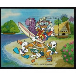1994 Palau Disney Paperino al mare