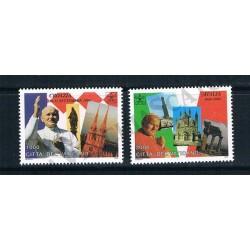 1995 - Viaggi di Giovanni Paolo II nel 1994 - MNH/**