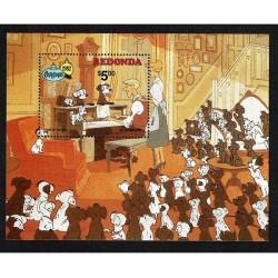 1982 Redonda Disney Carica dei 101 Natale