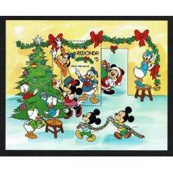 1983 Redonda Disney foglietto per il Natale
