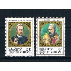 1996 - S.Celestino V e S.Alfonso Maria de Liguori - MNH/**