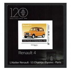 2018 Francia Renault 4 tessera da collezione