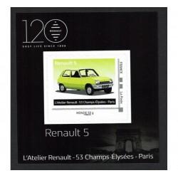 2018 Francia Renault 5 tessera da collezione