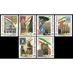 2011 Vaticano 150° Unità d'Italia serie MNH