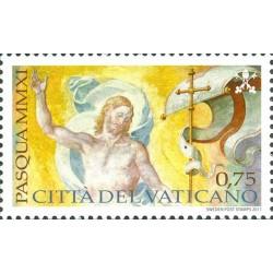 2011 Vaticano emissione per la Pasqua MNH
