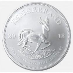 2018 Sud Africa KRUGERRAND - 1 OZ Argento/Silver 999