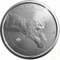 2017 Canada LYNX Predators - 1 OZ Argento/Silver 999 1$