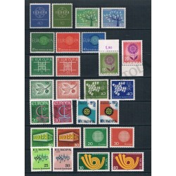 1959/1973 Germania 13 serie CEPT complete MNH/**