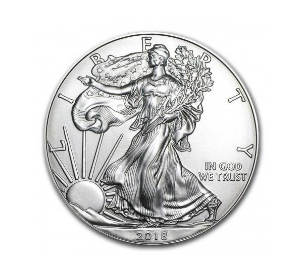2018 USA EAGLE - 1 OZ Argento/Silver 999 1$