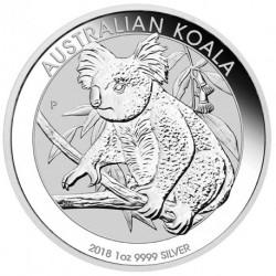 2018 Australia KOALA - 1 OZ Argento/Silver 999 1$