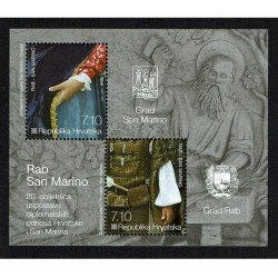 2012 Croazia congiunta San Marino Relazioni diplomatiche