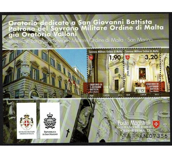 2013 SMOM congiunta (Joint Iusse) San Marino san Giovanni Battista