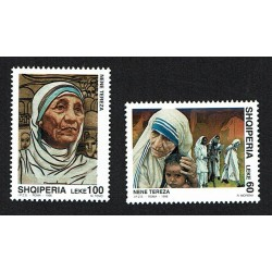 1998 Albania congiunta (joint iusse) Italia Madre Teresa di Calcutta