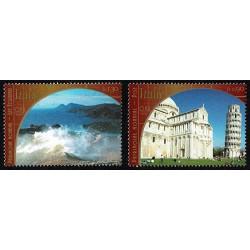2002 ONU Ginevra congiunta (joint iusse) Italia Patrimonio Mondiale