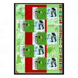 2002 Francia congiunta minifoglio campioni del Mondo