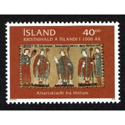 2000 Islanda congiunta (joint iusse) Vaticano - il Cristianesimo